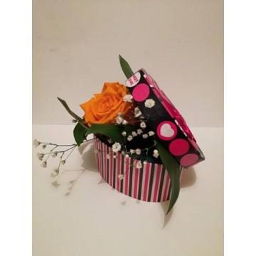 Кутия с вечна роза