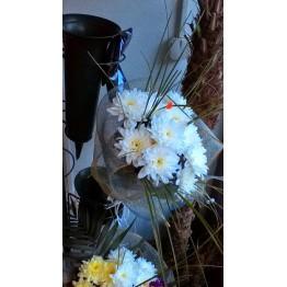 Букет 5 хризантеми
